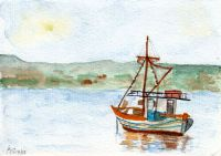 Griechisches Fischerboot