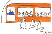 Subway driver