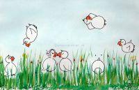 Glück auf der Frühlingswiese