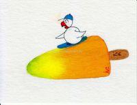 Surf auf dem Eis