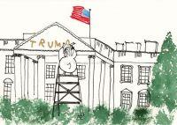 Umzug ins White House
