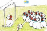 Uruguay's soccer team