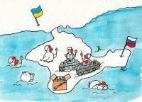 Rosenmontag auf der Krim